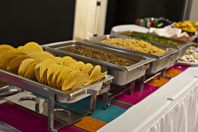 Timeless events taco buffet