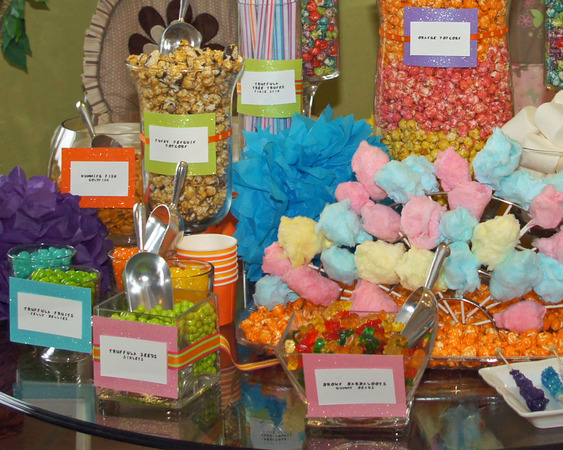 Timeless events birthday candy bar